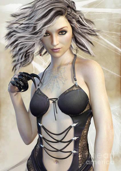 Spider Queen Poster
