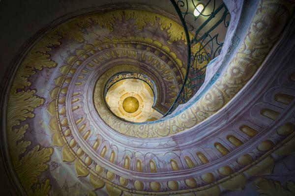 Spiral Staircase Melk Abbey I Poster