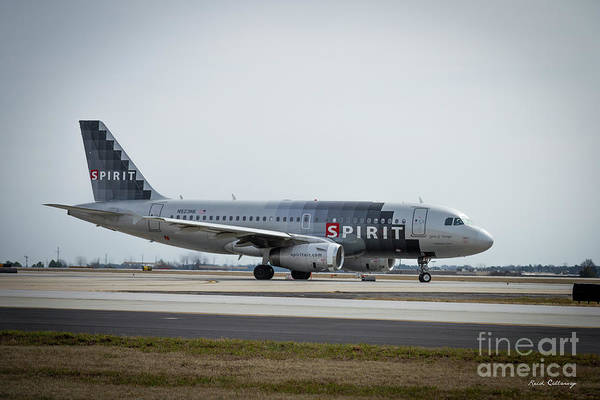 Spirit Airlines A319 Airbus N523nk Airplane Art Poster
