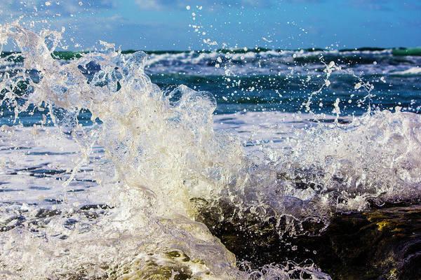 Wave Crash And Splash Poster