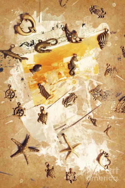 Splashback To The Old Ocean Poster