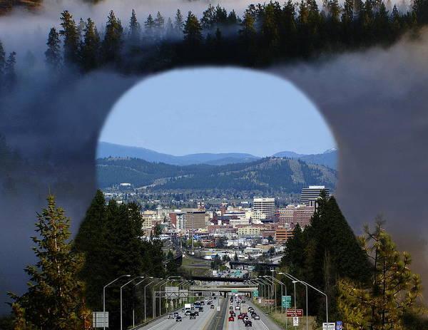 Spokane Near Perfect Nature Poster