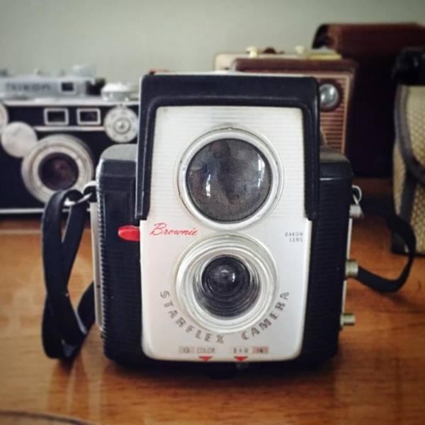 Brownie Starflex Camera Poster