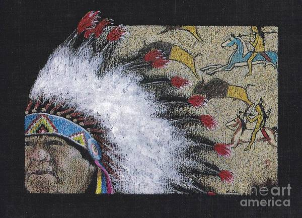 Spotted Eagle Poster