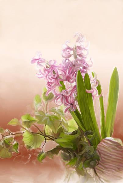 Spring Hyacinth Poster
