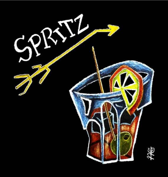 Spritz Aperol T-shirt Design Venice Italy - Venezia Veneto Italia Poster