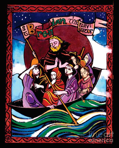 St. Brendan The Navigator - Mmbre Poster