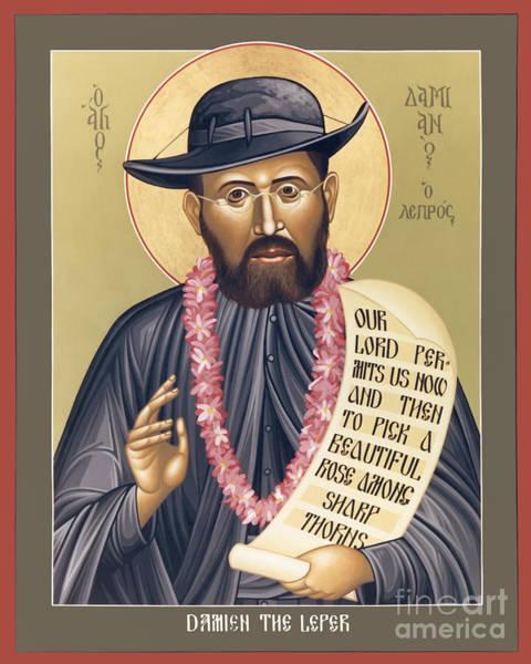 St. Damien The Leper - Rldtl Poster