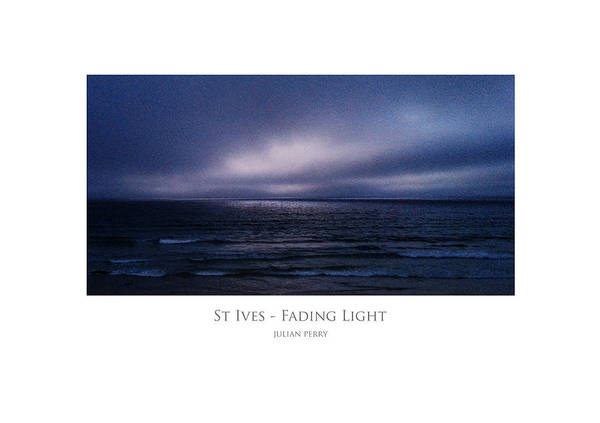 St Ives - Fading Light Poster