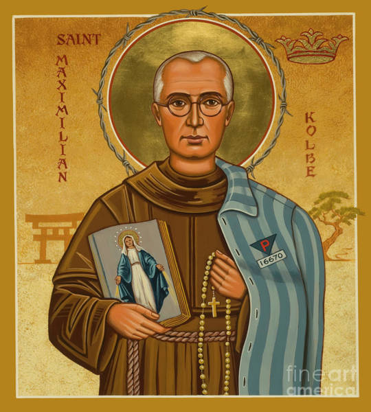 St. Maximilian Kolbe - Jckol Poster