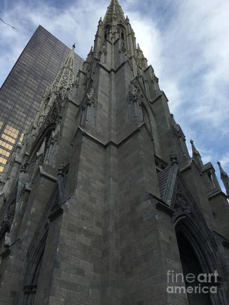 St. Patricks Cathedral Perspective Poster