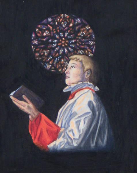 St. Thomas Episcopal Nyc Choir Boy Poster