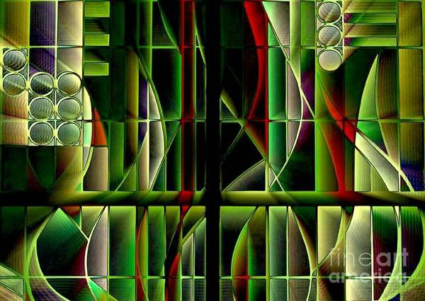 Stained Glass 2 Poster