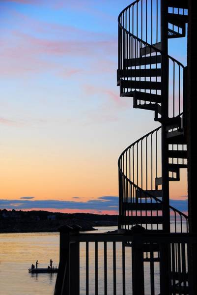 Poster featuring the photograph Stairway To Heaven by AnnaJanessa PhotoArt