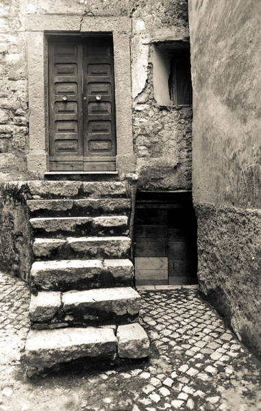 Poster featuring the photograph Stairway To The Past by Emanuel Tanjala