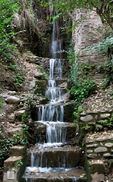 Stairway Waterfall Poster
