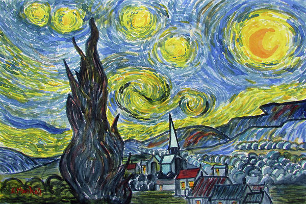 Starry, Starry Night Poster