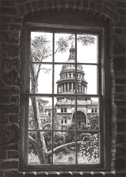 State Capitol Of Texas Poster