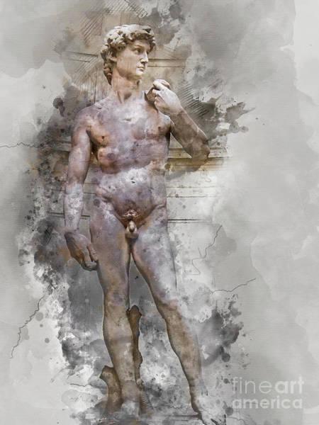 Statue Of David Poster
