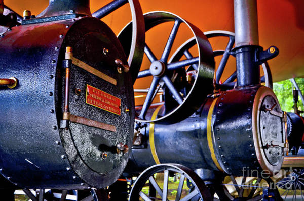 Steam Engines - Locomobiles Poster
