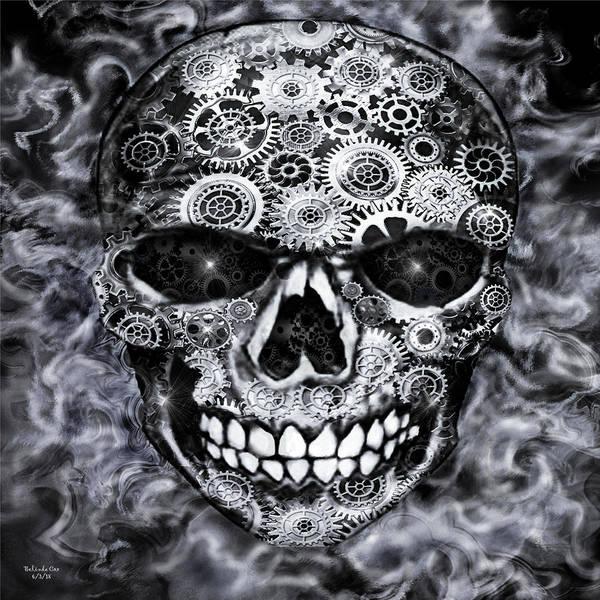 Steampunk Skull Poster