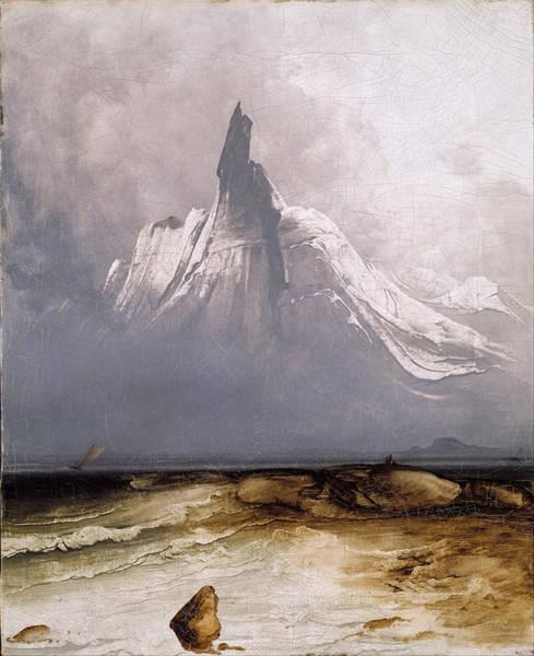 Stetind In Fog Poster