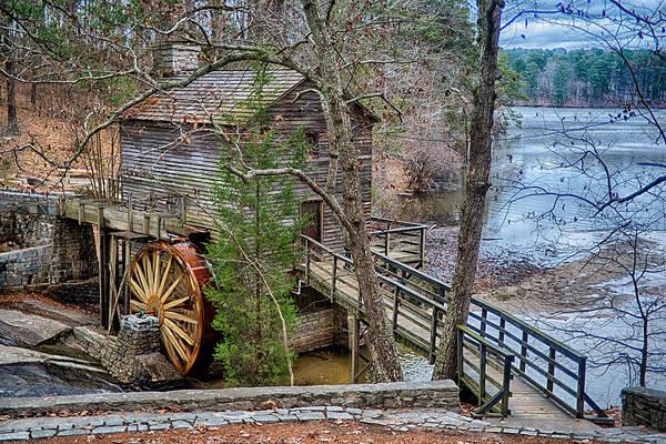 Stone Mountain Park In Atlanta Georgia Poster