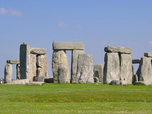 Stonehenge Morning Poster