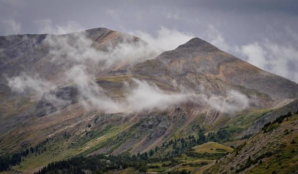 Storm Break Peaks Poster
