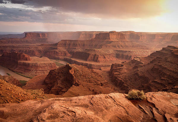 Storm Over Canyonlands Poster