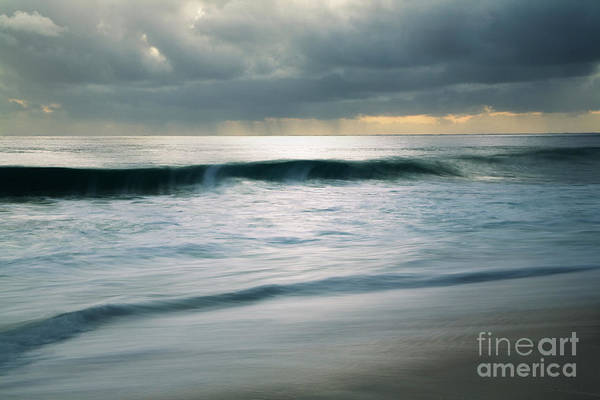 Stormcloud Over Keawaula Beach Poster