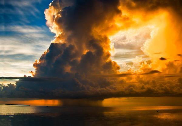 Stormy Florida Keys Poster