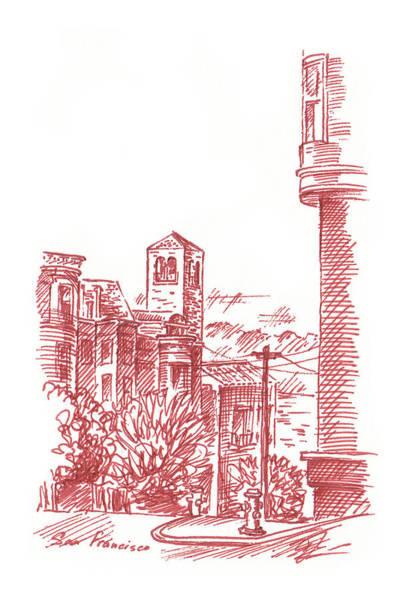 Streets Of San Francisco Chestnut St Poster