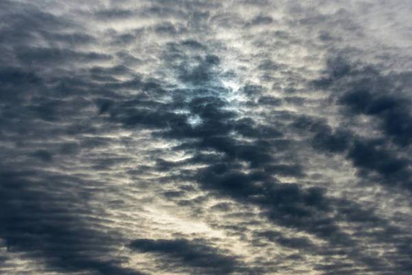 Striated Clouds Poster