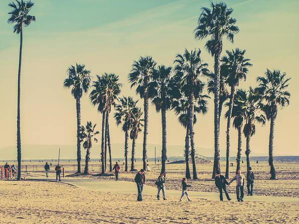 Stroll Down Venice Beach Poster