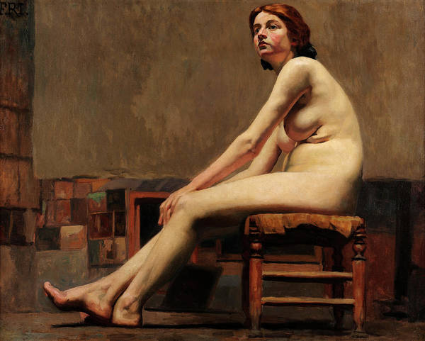 Study Of Nude Poster
