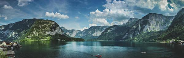 Stunning Lake Hallstatt Panorama Poster
