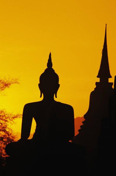 Sukhothai Temple Poster