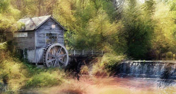 Poster featuring the photograph Summer At The Mill by Andrea Platt