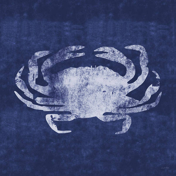 Summer Crab- Art By Linda Woods Poster