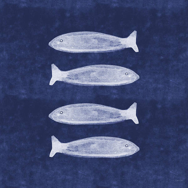 Summer Fish- Art By Linda Woods Poster