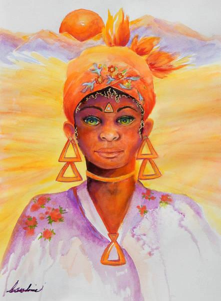 Summer Goddess Poster