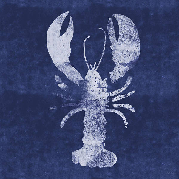 Summer Lobster- Art By Linda Woods Poster