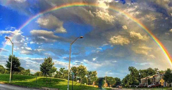 Summer Rainbow Poster