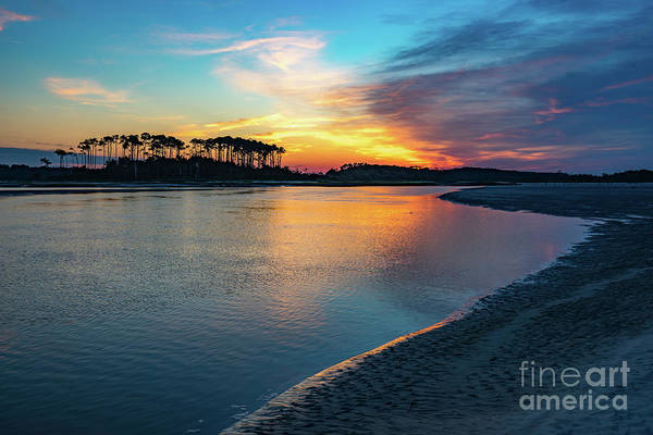 Summer Sunrise At The Inlet Poster