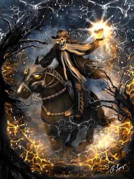 Summoned Skull Fantasy Art Poster