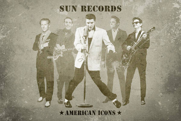 American Icons - Sun Records Poster