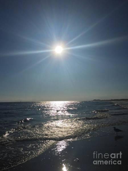 Sunburst Reflection Poster