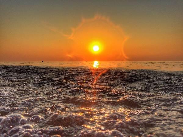 Sunburst Sundown Poster