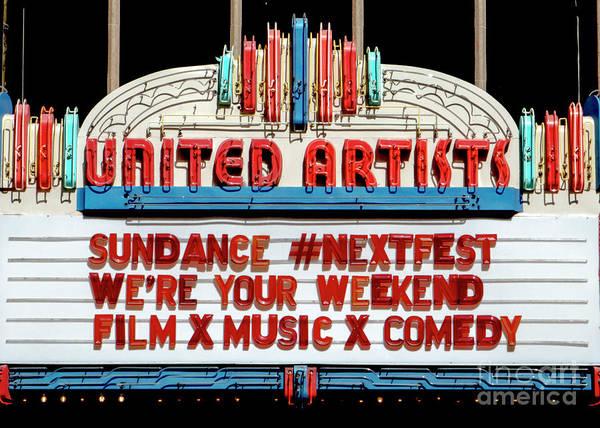 Sundance Next Fest Theatre Sign 1 Poster